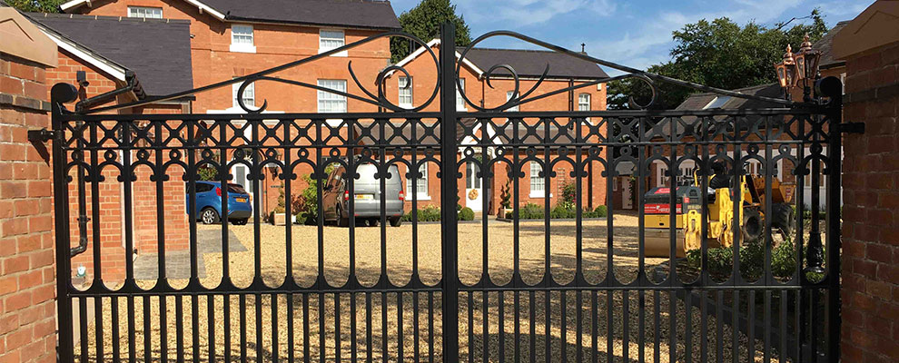Gates & Railings for a Listed Building