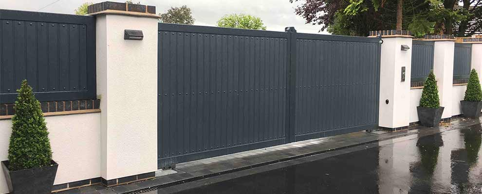 Modernising a Residential Property with Automated Gates & New Railings