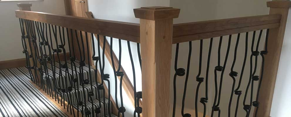 Creating a Contemporary Balustrade for a Residential Staircase