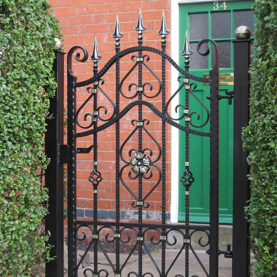 Wrought Iron Garden Gates 187 Ironcraft