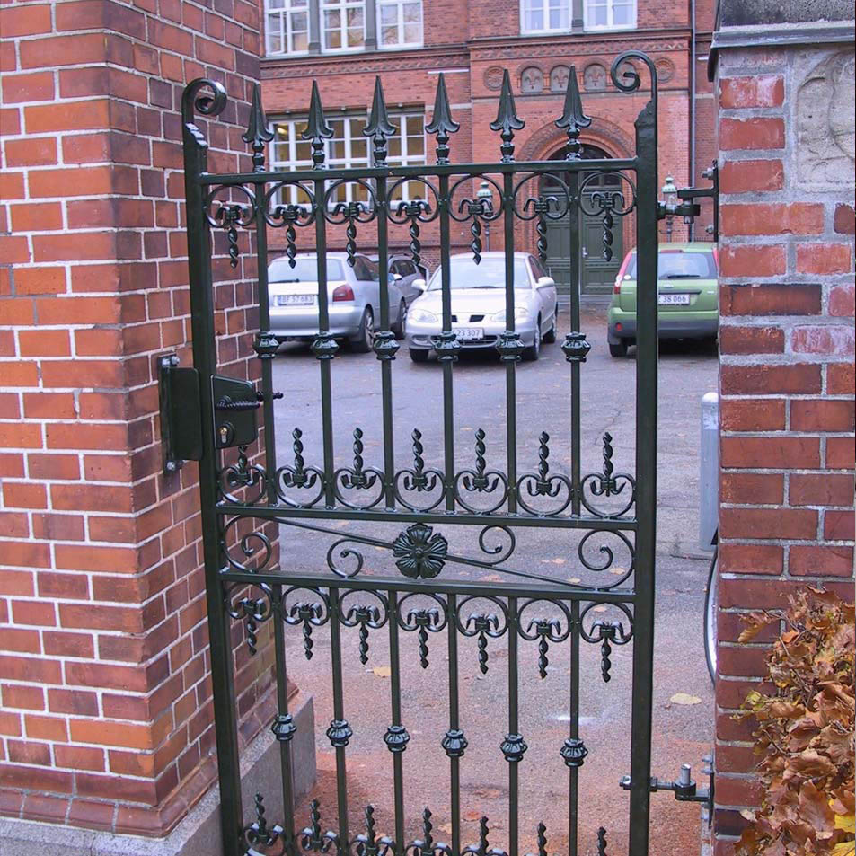 Iron garden gate - Wrought Iron Garden Gates Ironcraft