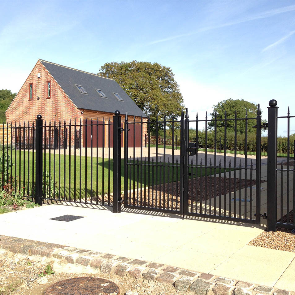 Wrought Iron Railings Gallery » Ironcraft